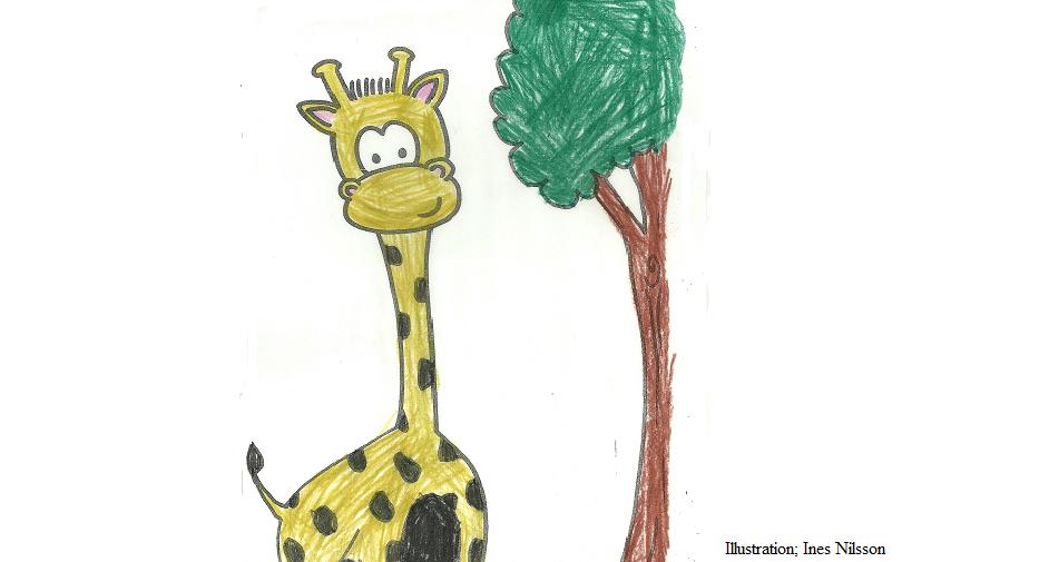 Giraff stor